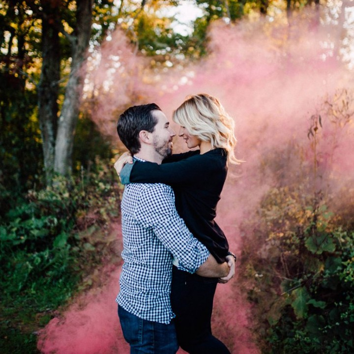 Lindsay + Dave (Baby Reveal)