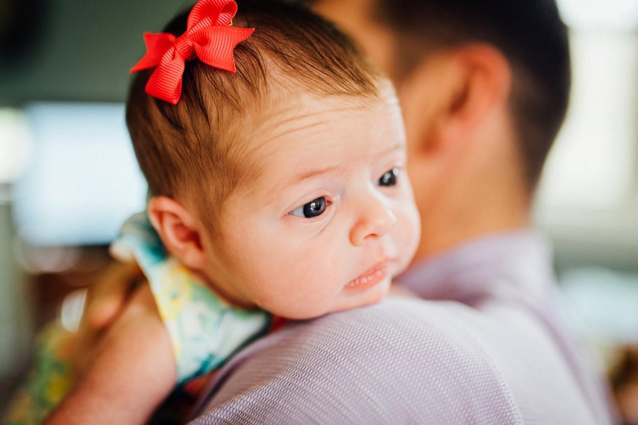 Baby Mia - Ohio Lifestyle Newborn Session