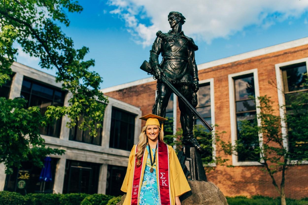 Jess - West Virginia University: Graduation Photo Session