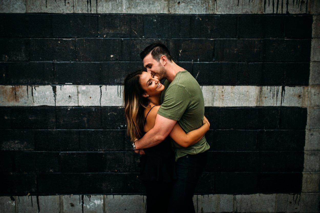 Courtney + Patrick // Strip District - Engagement Shoot