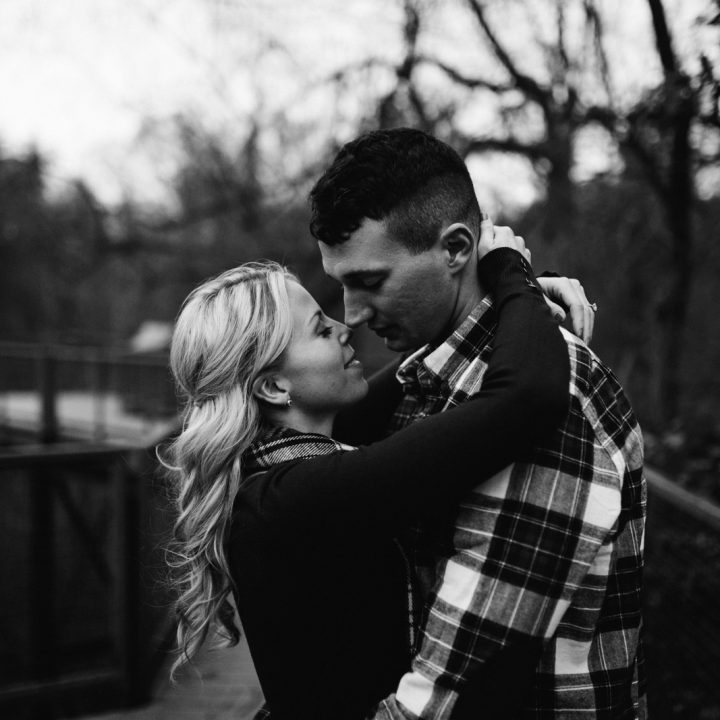 Alexa and Brady - Northern WV Engagement
