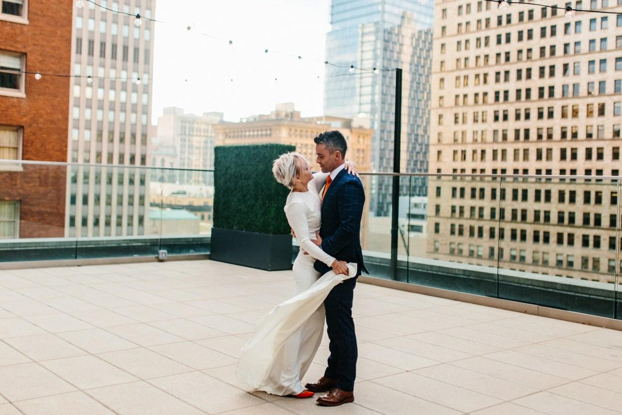 Pittsburgh Wedding Hotel Monaco