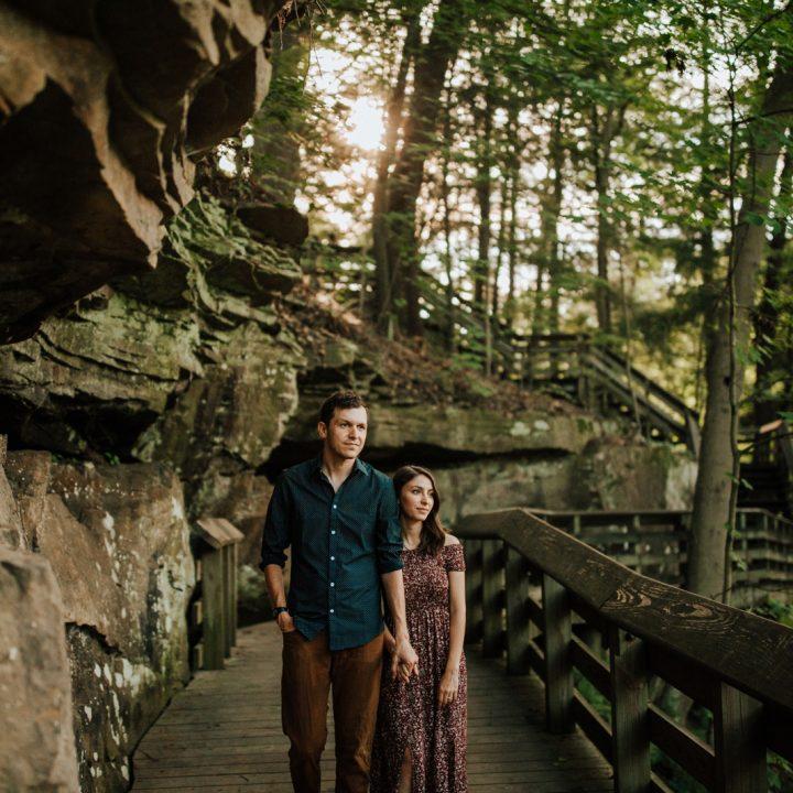 Sarah + Collin - Cuyahoga Valley Engagement