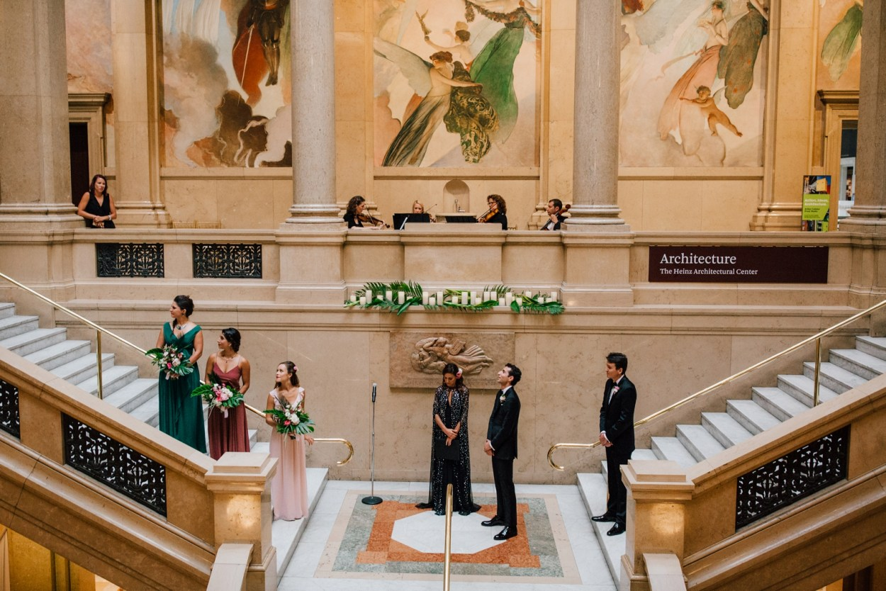 Wedding Carnegie Museum of Art Ace Hotel Pittsburgh
