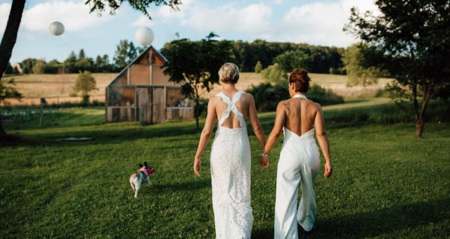 Chrissy and Sarah - Sanaview Farms Wedding - Champion, PA