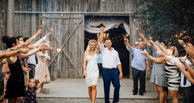 Caitlin + Josh - Rustic Acres Farm Wedding