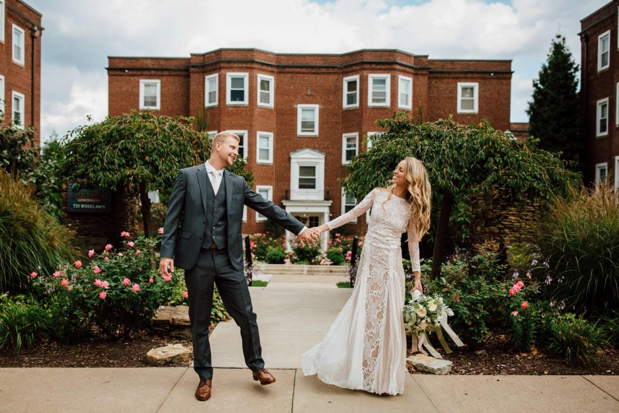 Amber + Adam's Intimate Il Pizzaiolo Wedding
