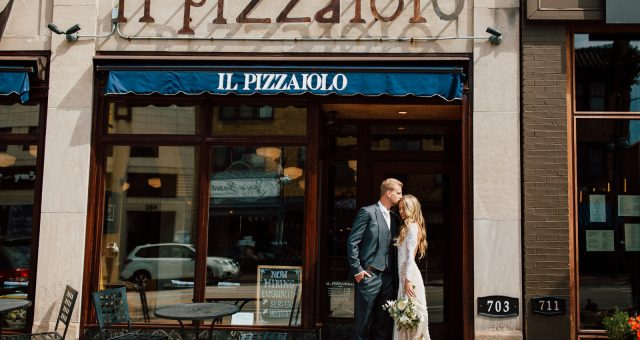 Amber + Adam's Intimate Il Pizzaiolo Wedding
