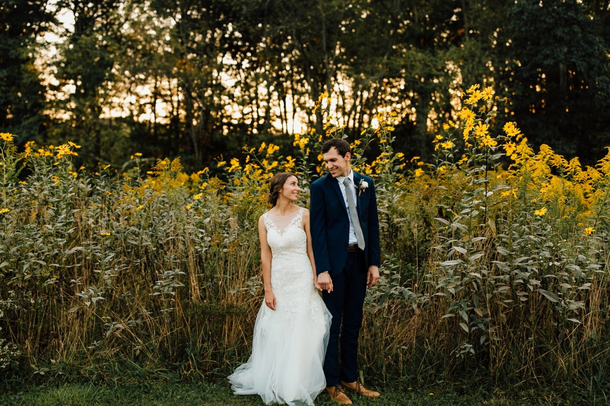 Wedding Meadow Rock Farm Pennsylvania