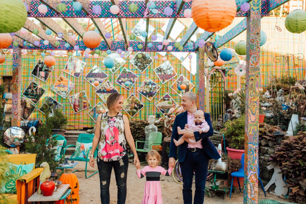 Randyland Pittsburgh Family Portrait Photographer