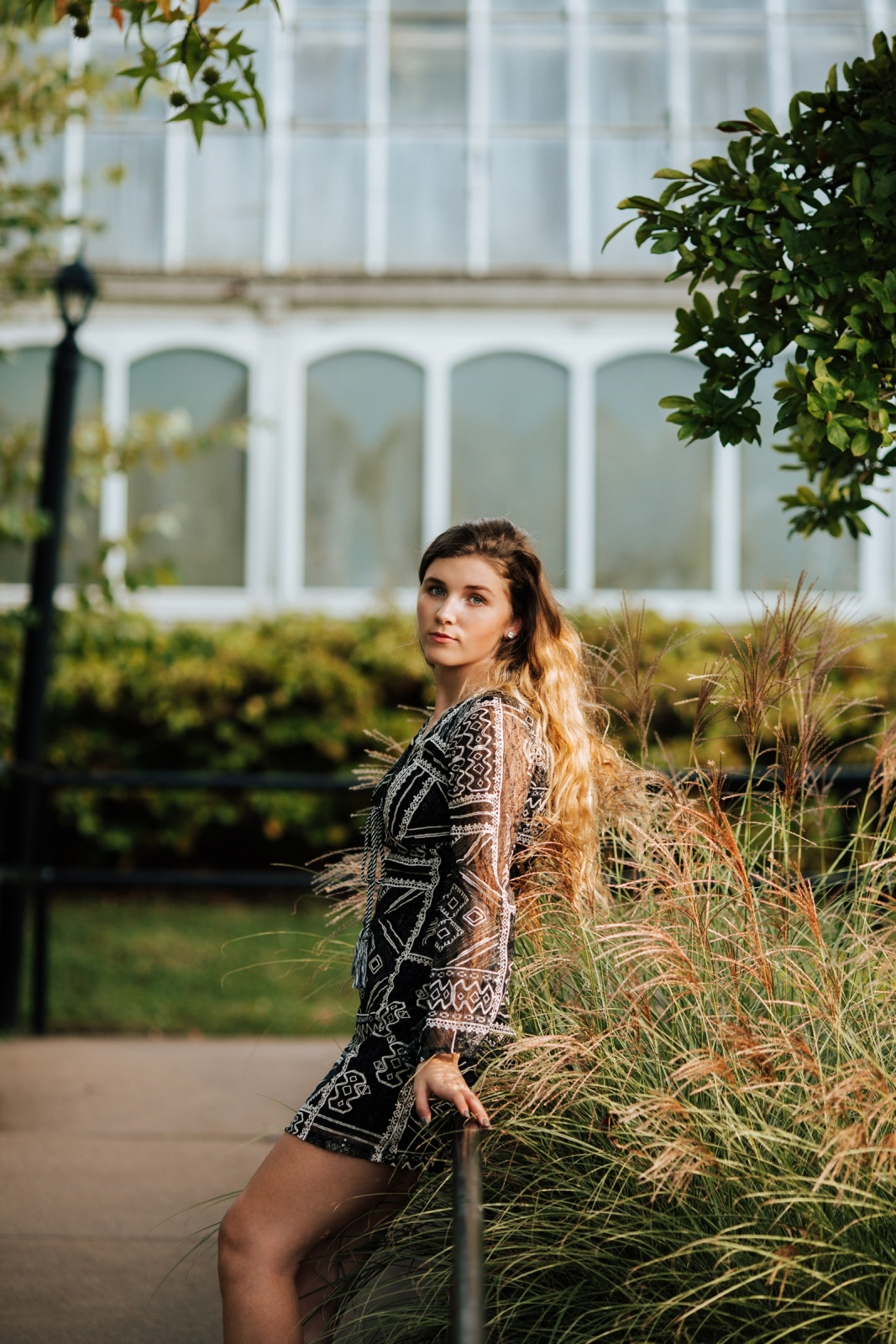 Pittsburgh High School Senior Portrait Photographer Phipps