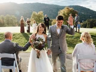 Natalie + Ben - Snowshoe West Virginia Wedding