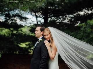 Colleen + Aaron - French House Wedding