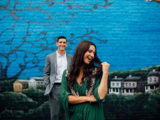 Ashley + Matt - Mt. Washington Engagement