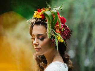 Tropical Bridal Inspiration - Styled Shoot at Choderwood
